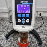 Viscosímetro calibração