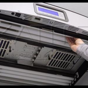 Calibração de cabine de luz