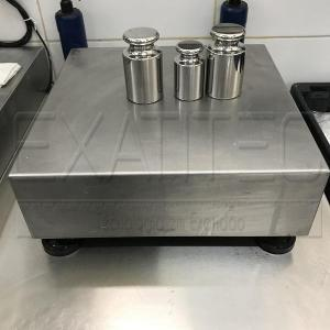 Manutenção e calibração de balanças